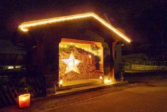 Photo: Weihnachtsfenster auf Dietisberg