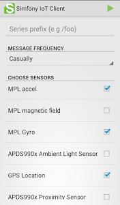 Simfony IoT Client screenshot 1