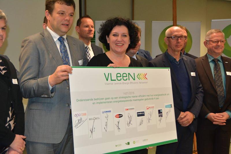 9 bedrijven ondertekenen 1ste VLEEN samenwerking