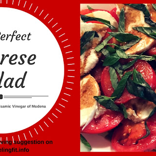How to Make Perfect Olive Oil and Balsamic Vinegar Caprese Salad