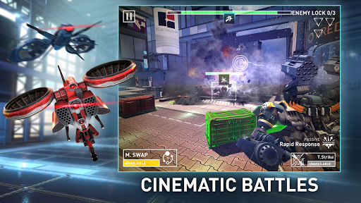 Metalborne: Mech combat of the future 0.150.3.0 androidappsheaven.com 1