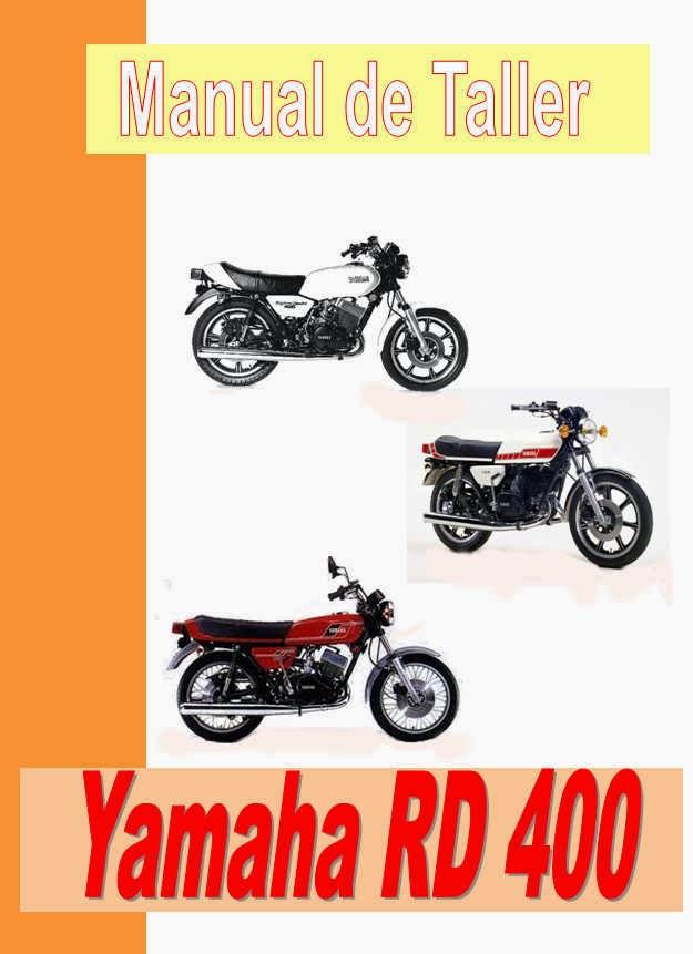 Yamaha RD 400-manual-taller-despiece-mecanica