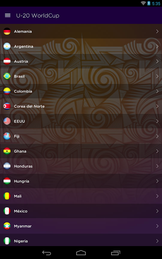 U-20 World Cup - Deporlovers- screenshot