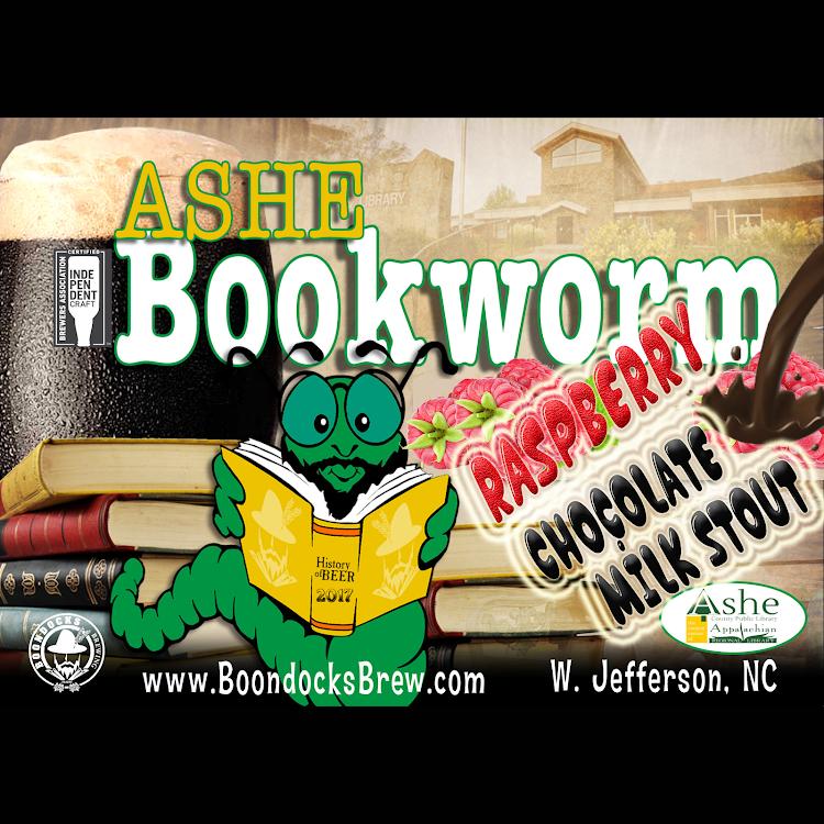 Logo of Bookworm Raspberry Chocolate Milk Stout