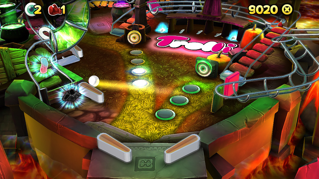 Trolli Pinball- screenshot