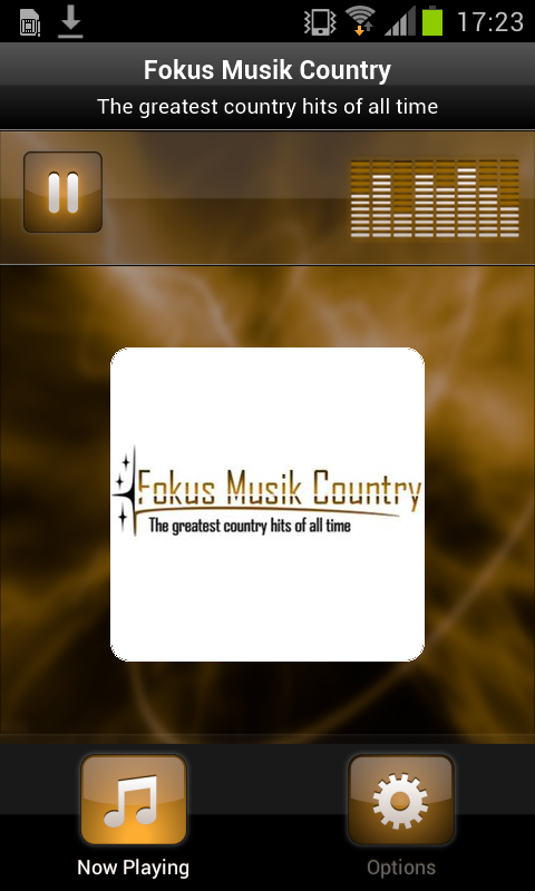 Fokus Musik Country- screenshot
