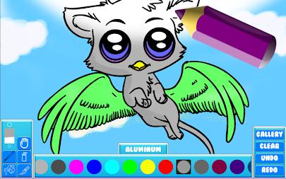 DIY Fantasy Coloring Book APK Screenshot Thumbnail 7
