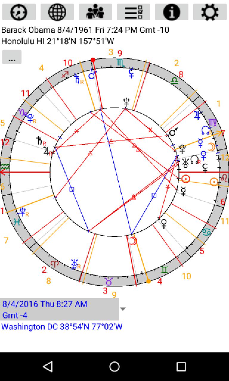 Astrological Charts Pro Screenshot 4