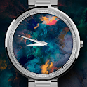 Black Opal Round Watch Face icon