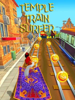 Temple Train Surfer - screenshot