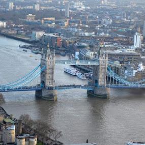 Tower Bridge by Poli Paunova - Buildings & Architecture Bridges & Suspended Structures (  )