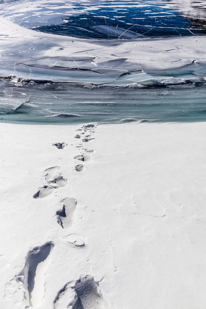 Lago ghiacciato di Dario Lo Presti