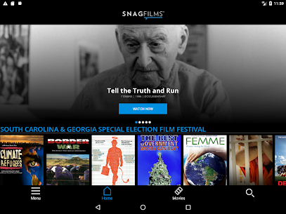 SnagFilms – Watch Free Movies App Download For Android 5