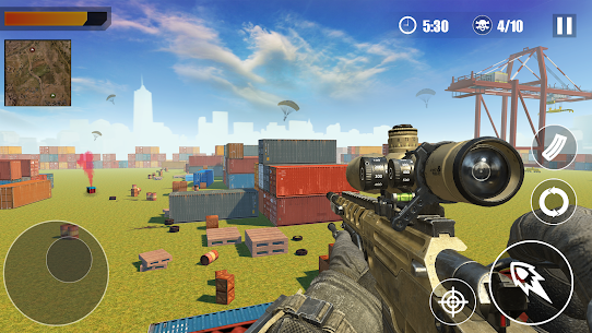 FreeFire Battleground Squad Top Action Game 2020 4