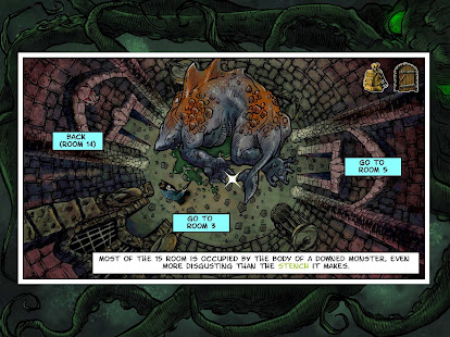 Lovecraft Quest – A Comix Game 9