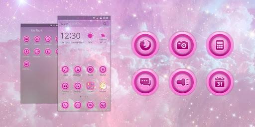 Pink Sky Theme