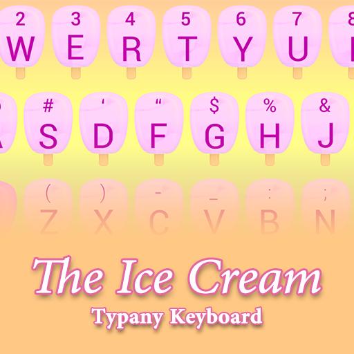 Ice Cream Theme&Emoji Keyboard