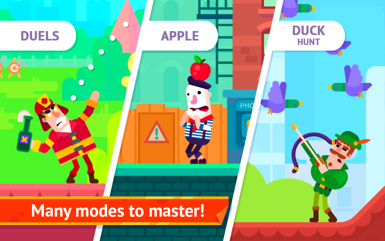 Bowmasters Mod Apk (Unlimited Gems/Coins/Money) Unlocked all Characters 5