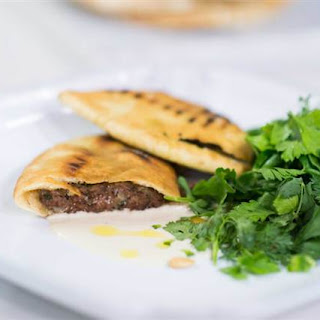 Pita Stuffed with Meat (Arayes).
