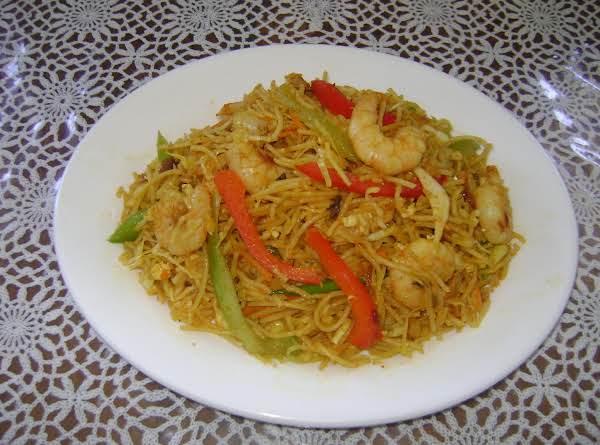 28   Curry Shrimp Fried Noodle Recipe