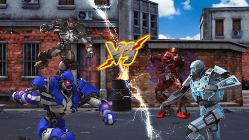Grand Robot Ring Battle: Robot Fighting Games apkmr screenshots 3