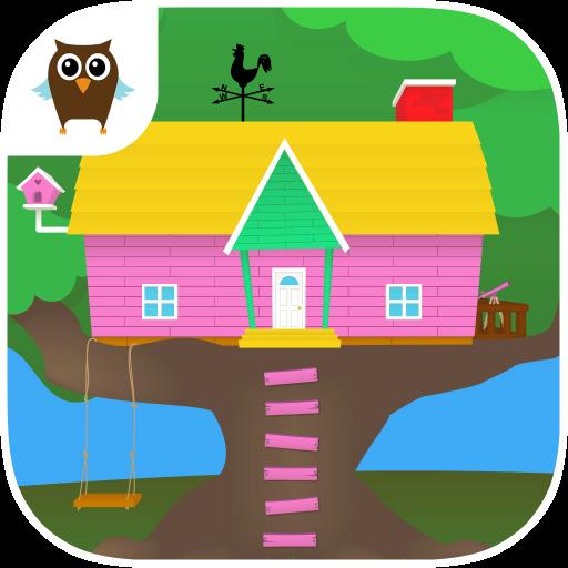 Penny & Puppy's Treehouse 教育 App LOGO-APP開箱王