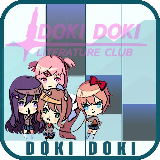 Doki Doki - Literature Club Piano Tiles