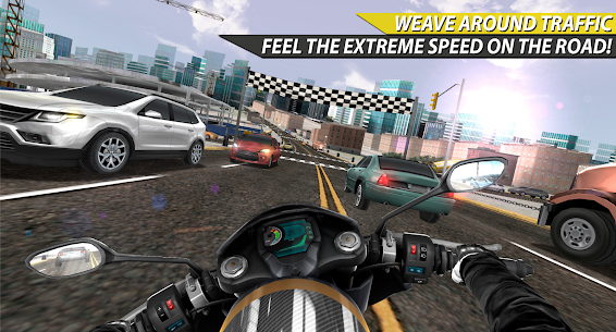 Moto Rider In Traffic 1.0.8.4 Android Mod APK 2