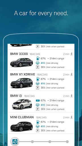 ReachNow CarSharing Screenshot