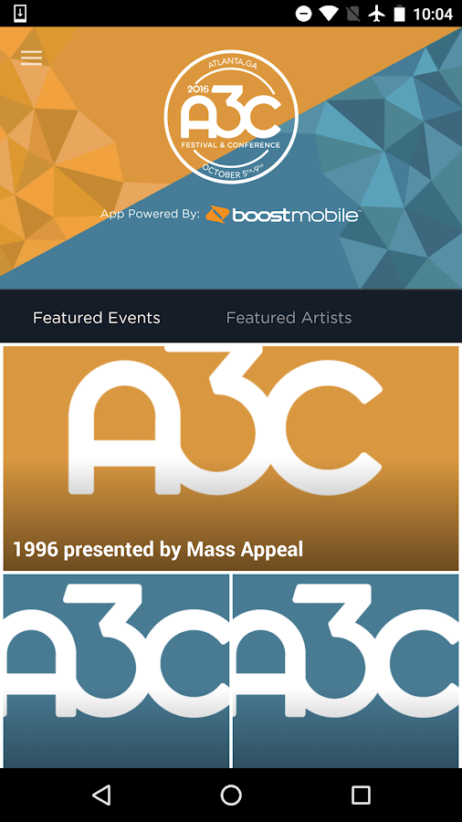 A3C 2016 Festival & Conference- screenshot