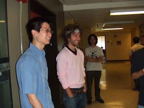 Photo: Daniel, Karl, and Brad