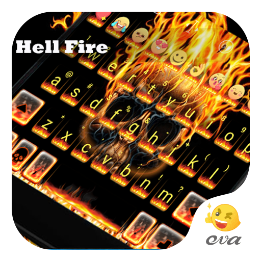 Hell Fire Eva Emoji Keyboard 遊戲 App LOGO-硬是要APP
