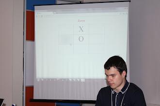 """Photo: Команда Error404 представила всім відому гру """"Хрестики-Нулики"""" і реалізували AI на Dart"""