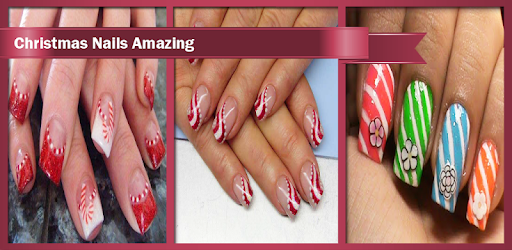Christmas Nails Amazing With Easy Steps To Follow. You Will Love Them!