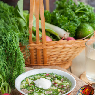 Okroshka - Cold Summer Soup