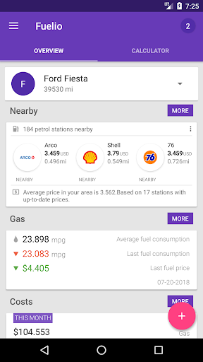 Fuelio: Gas log & costs, GPS tracker 7.5.3 gameplay | AndroidFC 3