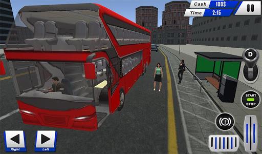 mobile bus driving sim 2018 - tourist coach drive 1.1 screenshots 12