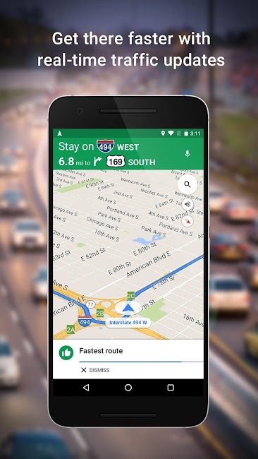 #1. Maps - Navigation & Transit (Android)