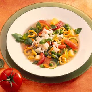 Minestrone (Italienische Frühlingssuppe)