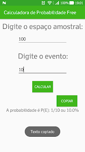 Calculadora de Probabilidade Free - náhled