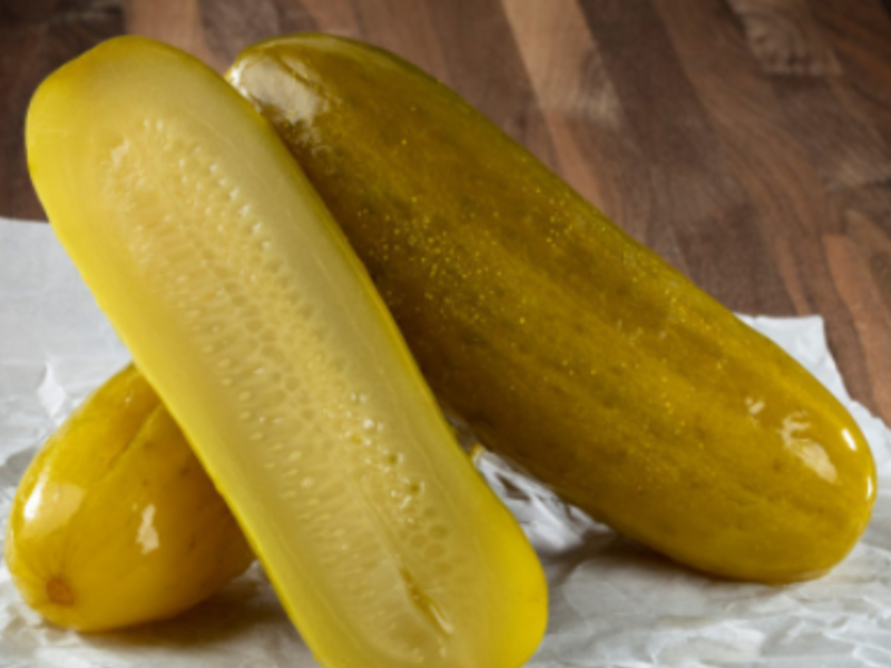 types of pickles