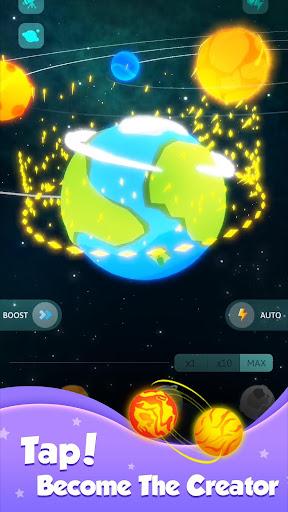Tap Galaxy-Build your space world apkdebit screenshots 3