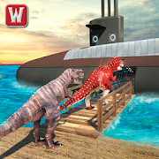 Underwater Dino Transport Game