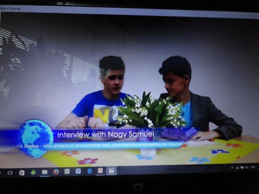 O najkrajší projekt v anglickom jazyku v školskom roku 2016/2017