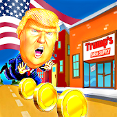 Trump Escape - Donald Running