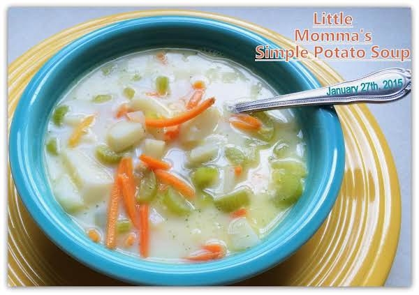 Little Momma's Simple Potato Soup Recipe