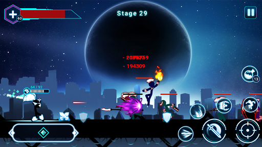 Stickman Ghost 2: Galaxy Wars 5.7 screenshots 5