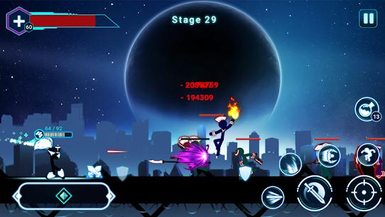 Stickman Ghost 2: Galaxy Wars 6.6 APK Mod [DINHEIRO INFINITO] 5