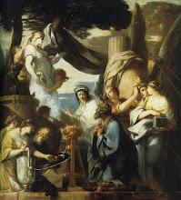 Photo: - Le Roi Salomon sacrifiant aux idoles (Paris musée du Louvre) - Sébastien Bourdon