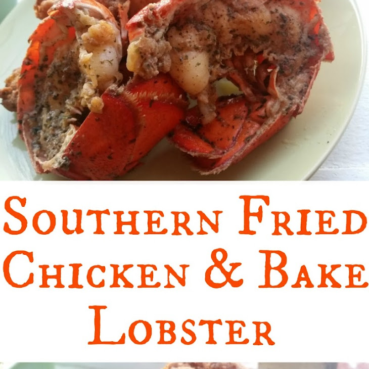Southern Fried Chicken & Bake Lobster